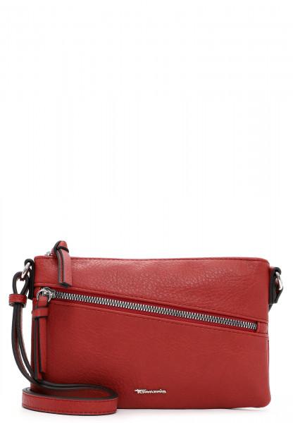 Tamaris Handtasche mit Reißverschluss Alessia klein Rot 30441600 red 600
