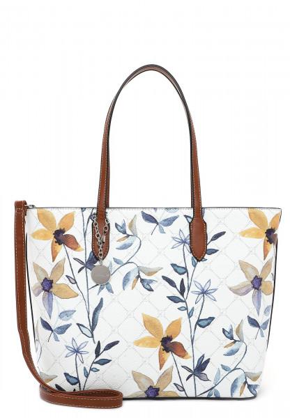Tamaris Shopper Anastasia Flower groß Weiß 30924399 white flower 399