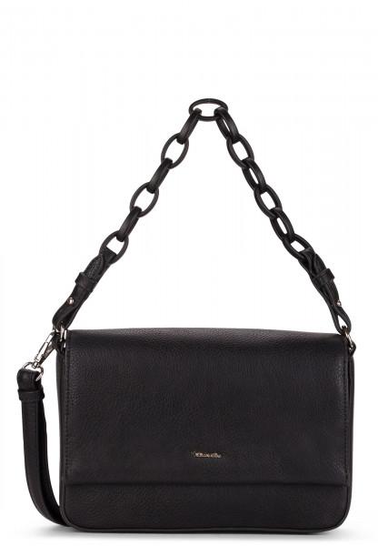 Tamaris Handtasche mit Überschlag Angela mittel Schwarz 30213100 black 100