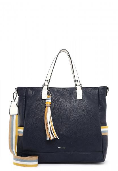 Tamaris Shopper Christa groß Blau 31123500 blue 500