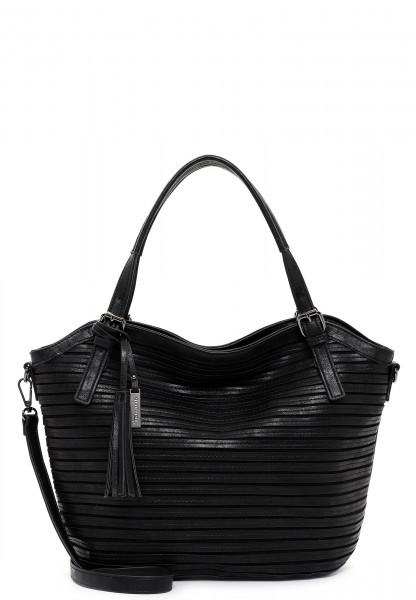 Tamaris Shopper Dalia mittel Schwarz 31316100 black 100