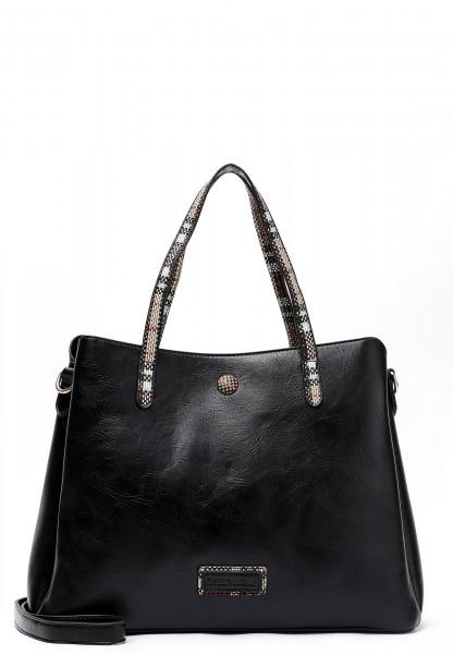 EMILY & NOAH Shopper Desiree mittel Schwarz 62466100 black 100